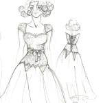 Ann's Couture Bridal Wear Sketch